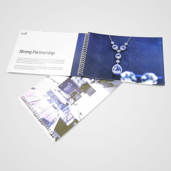 Kuldan Spiraalköites brošüür