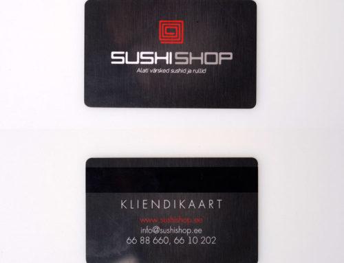 Sushishop kliendikaart