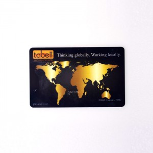 Tabell plastic cards