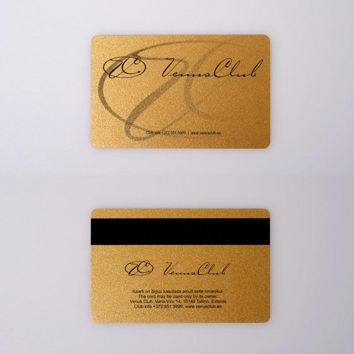 Venus Club kliendikaardid