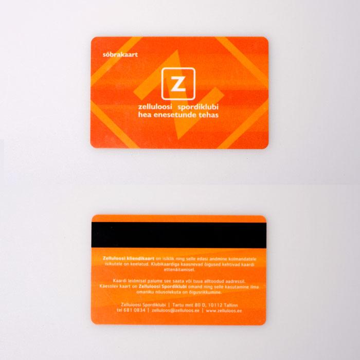 Z-plastikkardid