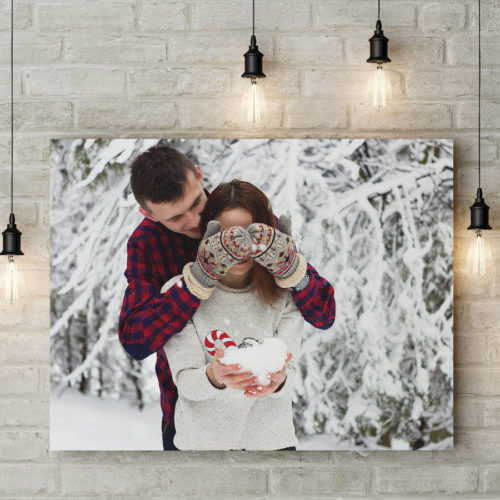 3 FB Photo on canvas