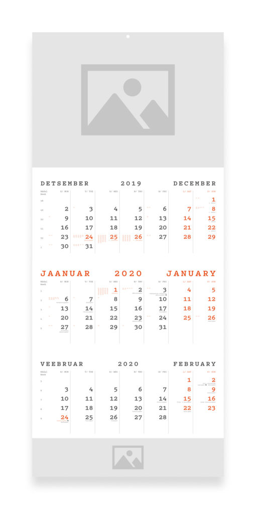A3 kalender 2020 WEB