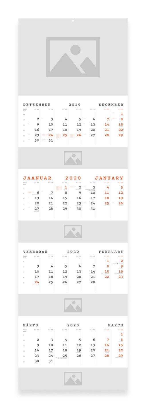 QUATTRO kalender 2020 WEB