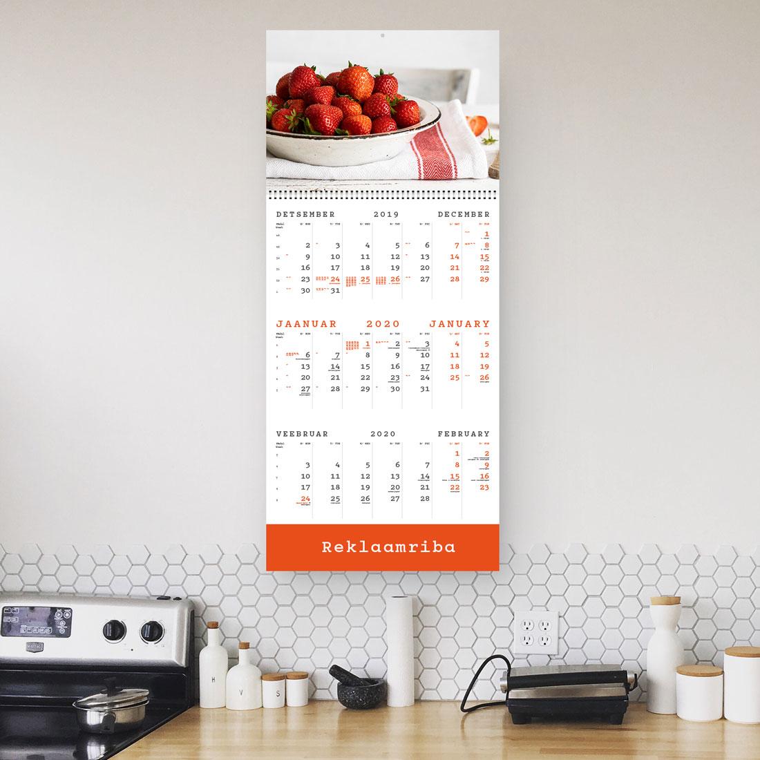 Kalender TRIO reklaamribaga