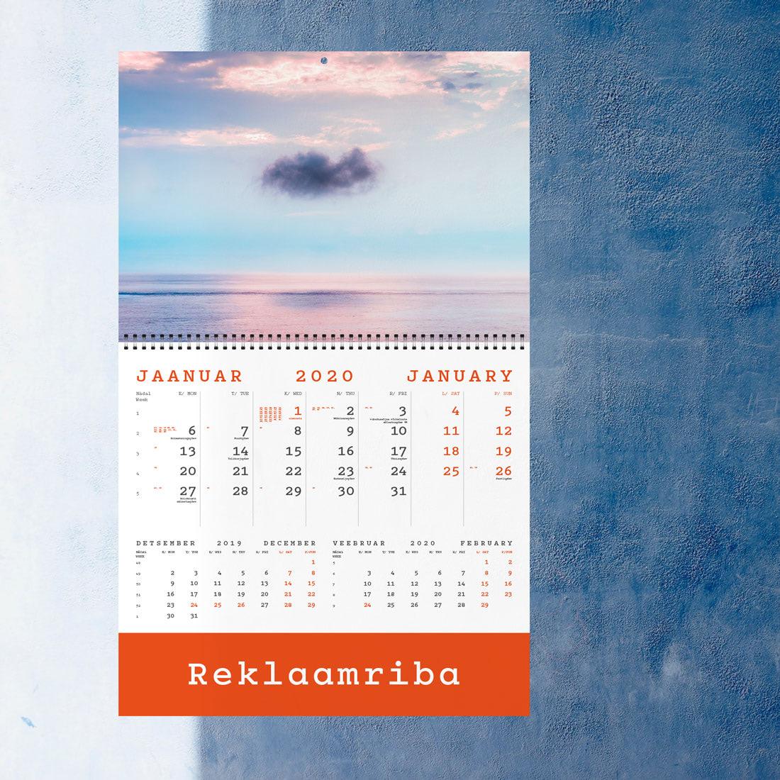 Kalender UNO reklaamribaga