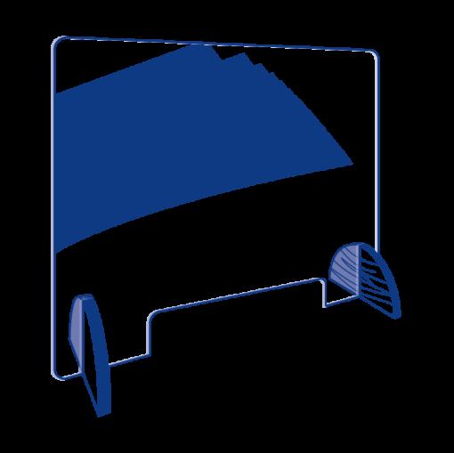 1 95x80 cm Kaitseklaas